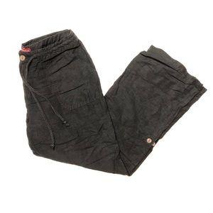 Merona | Black Linen Pants